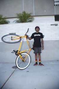 Brandon On Bike