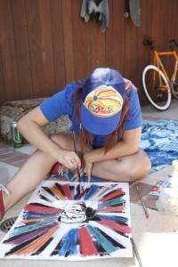 RadUncle Hailee Painting