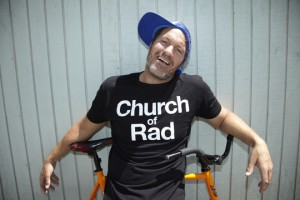resized Church Tony On Bike