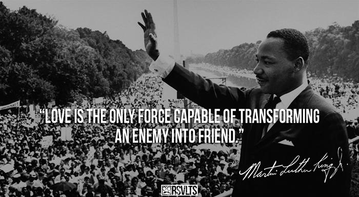 Mr.Martin Luther King! Happy Birthday Rad Hero! - RadHuman