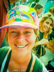 Mindy Odai YouTube:Google and Stacey Photobombing